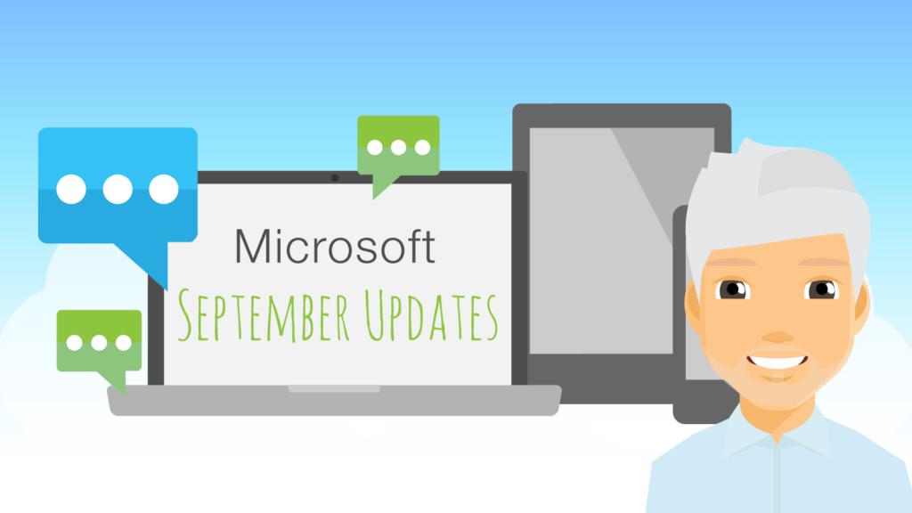 Image for Mark's Microsoft monthly update for September