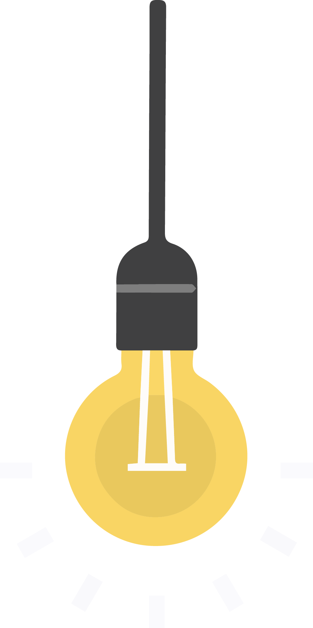 A lightbulb for our Excite approach in our four E's change management procedure