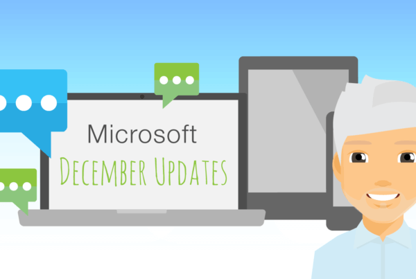 Image to show Mark's Microsoft Monthly Update for December