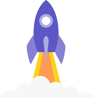 A rocket to represent our Exploit phase