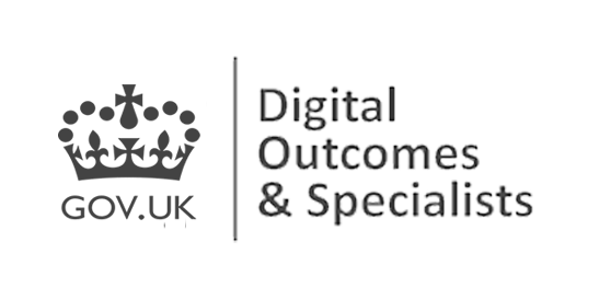 Logo for the Digital Outcomes and Specialists