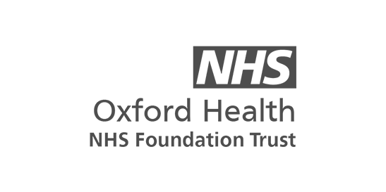 Logo for the NHS Oxford Health trust