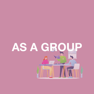 Image of people working as a group
