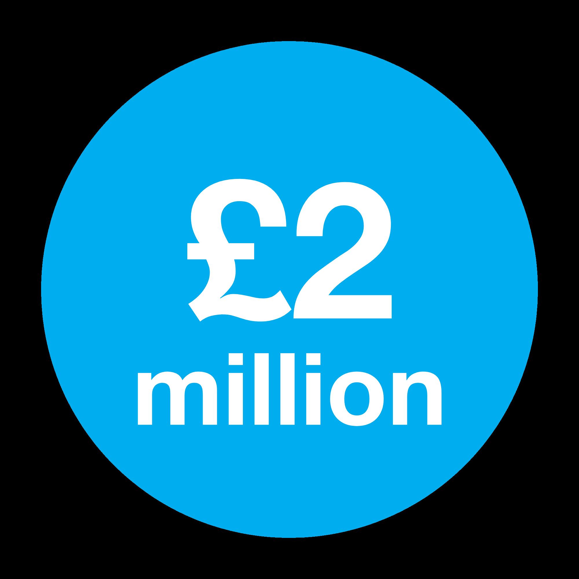 2 million pound saved in travel costs
